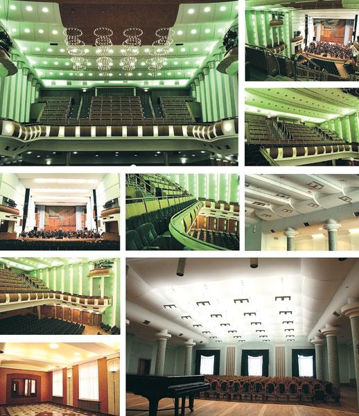 Интерьеры Белорусской государственной филармонии