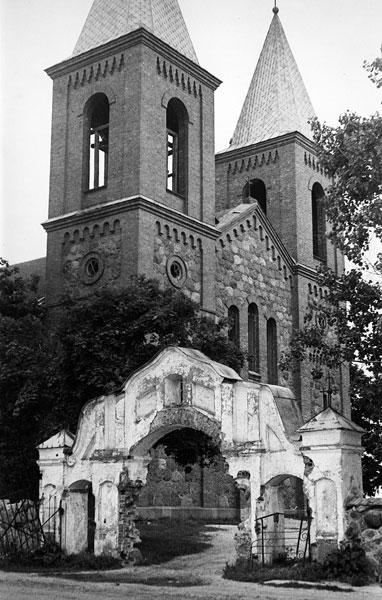 Костел св. Симеона и Тадеуша в д. Лаздуны Ивьевского р-на