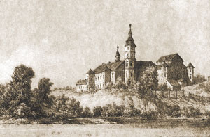 Рис. 2. Дворец на рисунке Н. Орды (XIX в.)