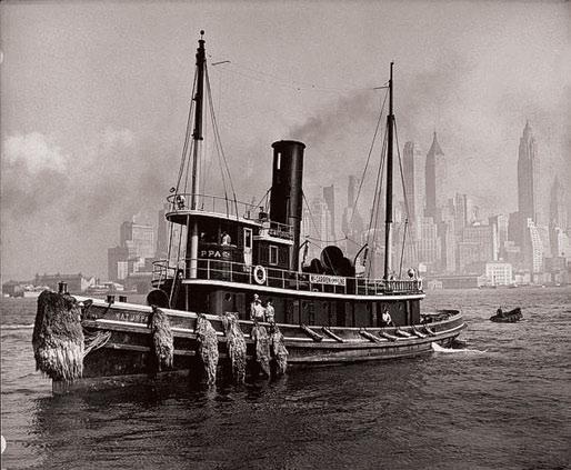 Рис 1. Панорама Нью-Йорка. 1901 г.