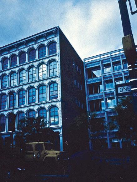 """""""Чугунные фасады"""" – производственный корпус с полнокаркасной конструктивной системой. Середина XIX в., США"""