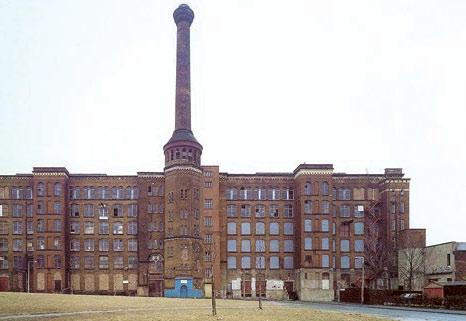 Прядильный корпус фабрики Блисс Твид Милл. Конец XVIII в., Англия