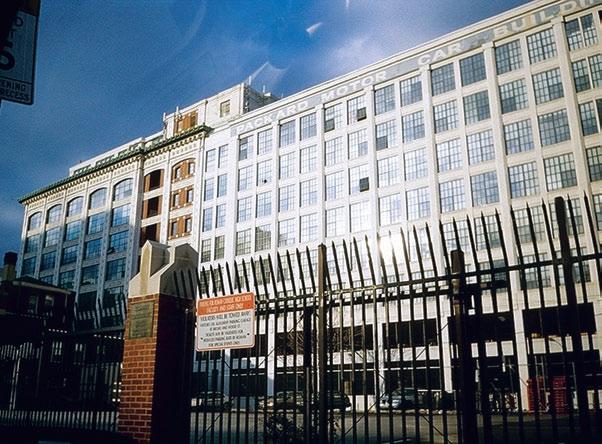 """Сборочный корпус """"Паккард Мотор"""" в Филадельфии. Начало ХХ в., США"""