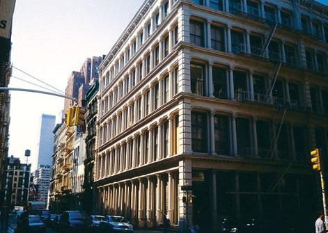 Производственное здание в Нью-Йорке. Первая половина ХХ в.