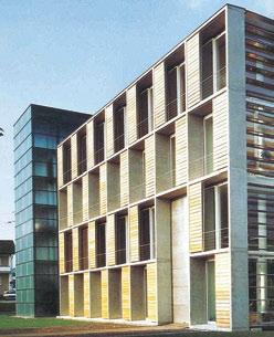 Многоэтажные производственные здания в европейской практике. Конец ХХ в.