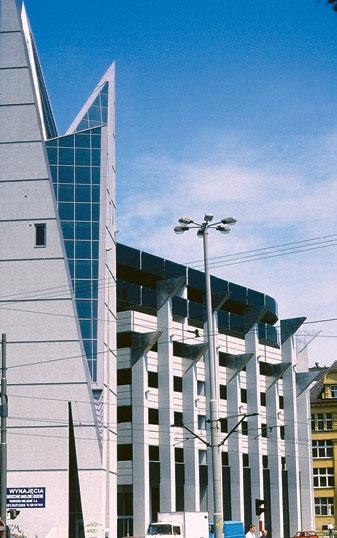 Многоэтажный гараж-стоянка во Вроцлаве. Вторая половина ХХ в., Польша