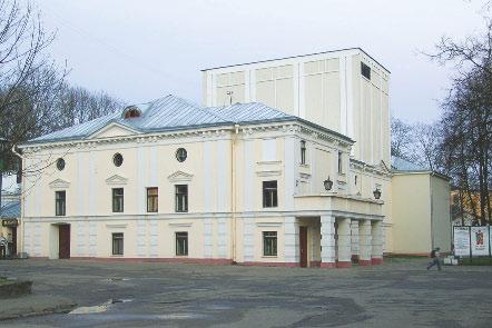 Здание гродненского театра А. Тизенгауза (в настоящее время – театр кукол)