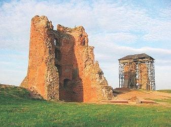 Навагрудскi замак. Сучасны выгляд
