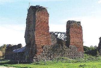 Крэўскi замак. Сучасны выгляд