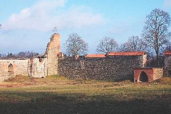 Мядзiнiнкайскi замак. Сучасны выгляд