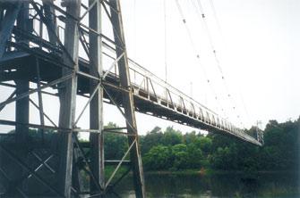 Мост через Неман в г. Мосты