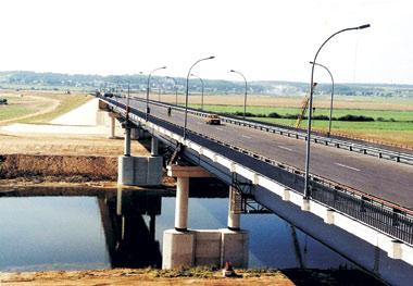3. Мост через Днепр на обходе Могилева