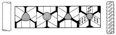 Рис. 4. Схема производства трехстороннего профиля по DIN 488
